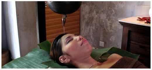 shiro dara treatment at yoga retreat in bali