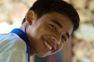 balinese smile