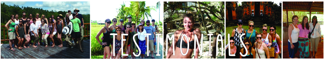 Bali Yoga Retreat Testimonials