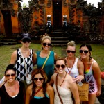 Walking through Ubud