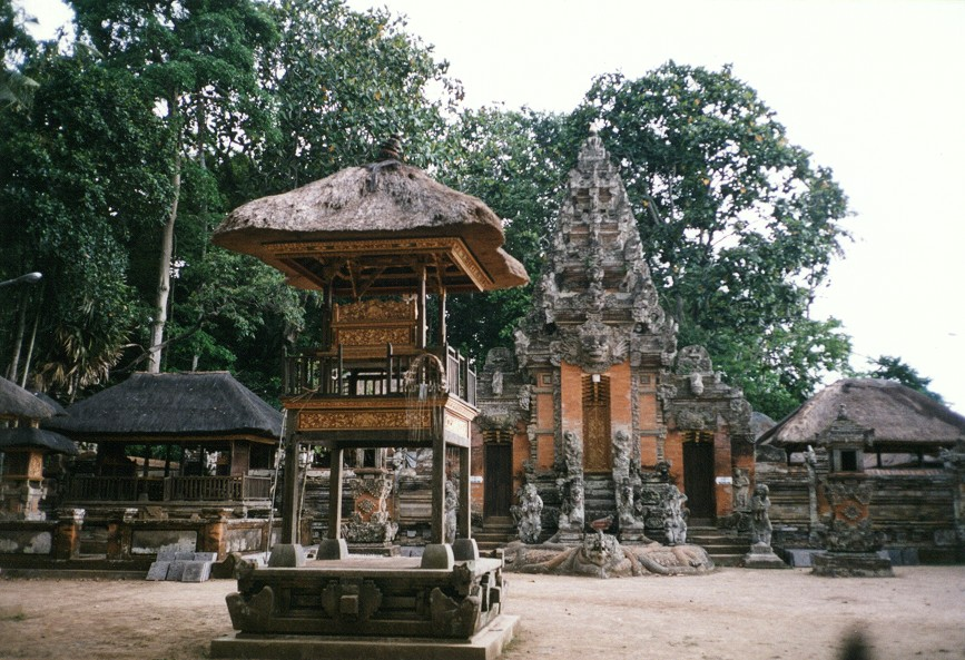 Temple in Ubud Monkey Forest