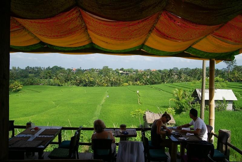 Sari Organik Restaurant and View
