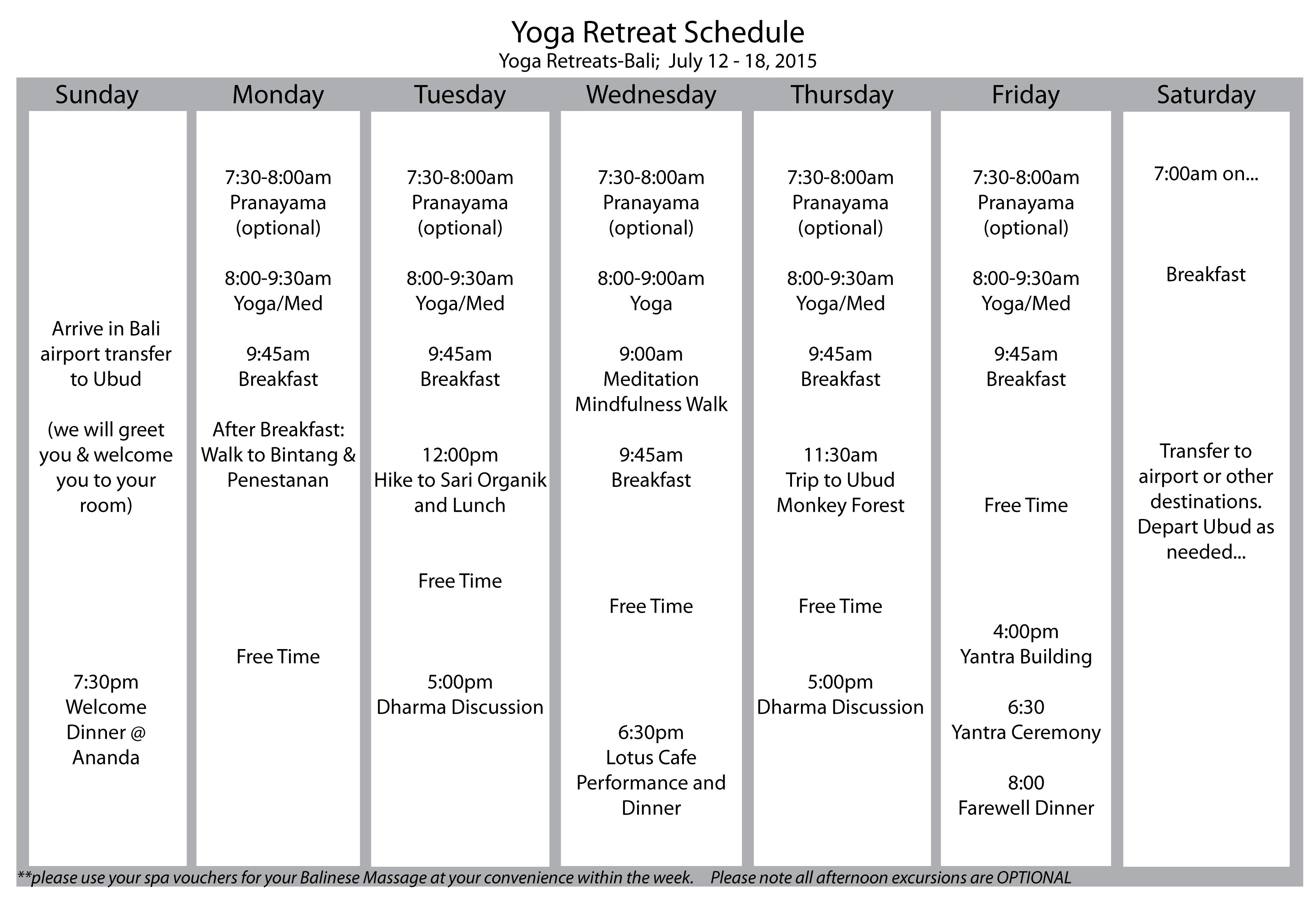 Schedule2015ananda