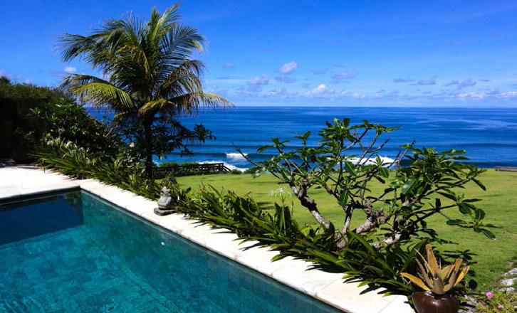 Villa Pool Oceanfront